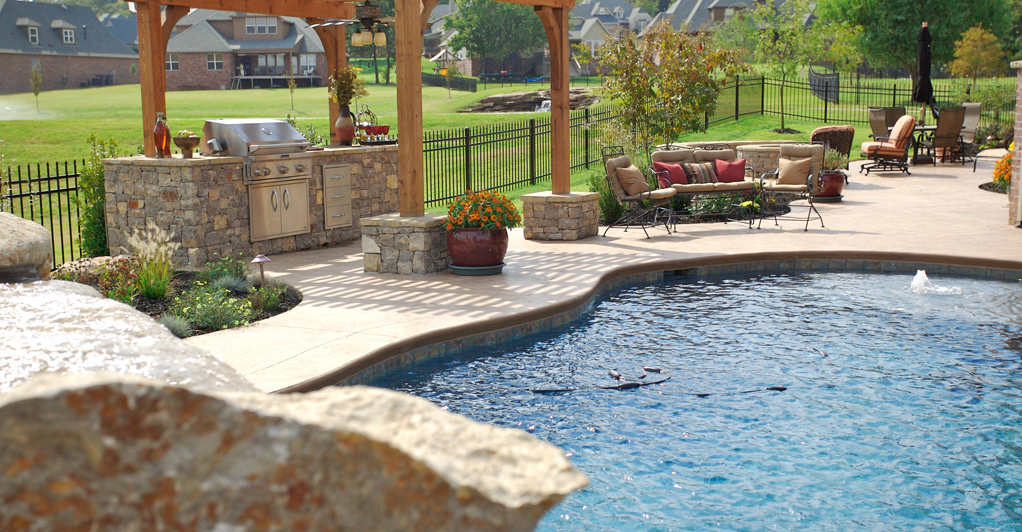 Tulsa Pool Design And Build Chlorine Vs Salt Water Pools Outdoor Living