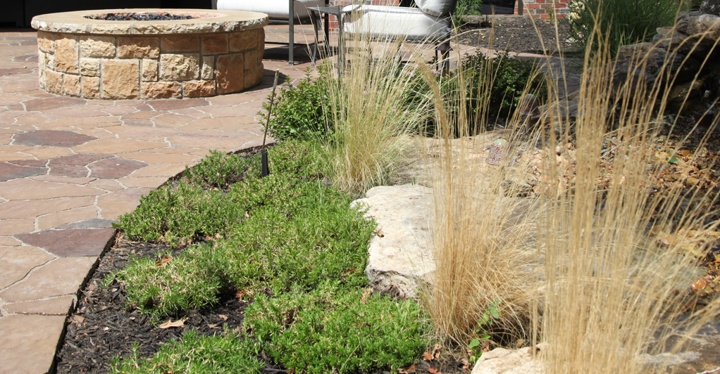 Tulsa landscape designers archives outdoor living for Low maintenance outside plants