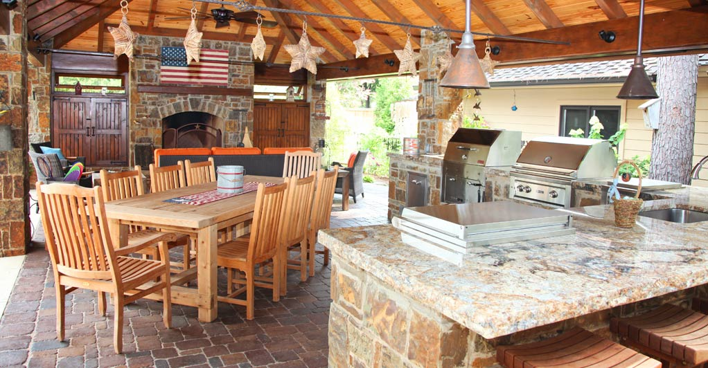 5 cooking tips to break in your tulsa outdoor kitchen for Kitchen ideas tulsa ok