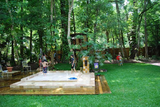 Splash Pads Swimming Pool Alternatives For Tulsa Kids Outdoor Living