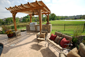 outdoor living space tulsa