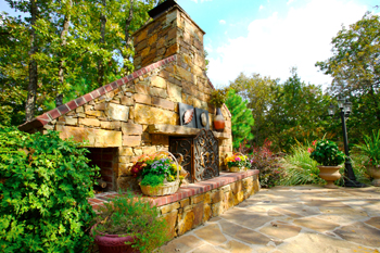 outdoor fireplaces tulsa