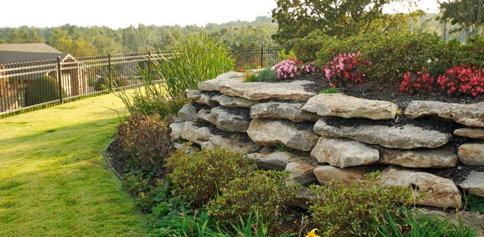 oklahoma-landscape-Retaining Walls 2