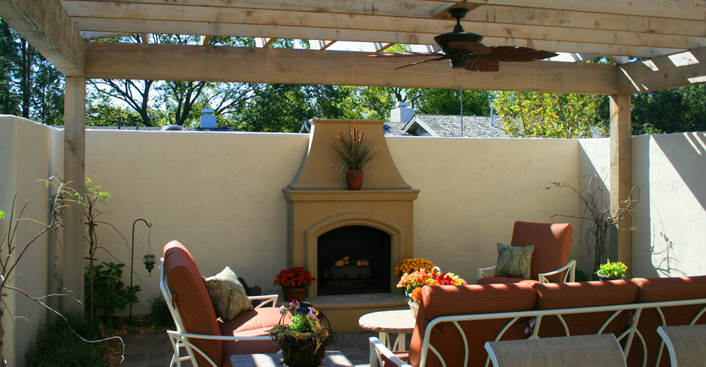 Outdoor fireplace Tulsa